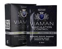 Viaman Delay Control Wipes